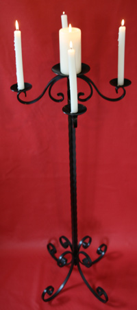 Hire Candelabras black, hire candelabras ideal for weddings