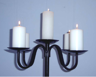 Hire table top Candelabras - ideal for weddings